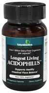 Image of Futurebiotics - Longest Living Acidophilus - 100 Vegetarian Capsules