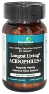 Futurebiotics - Longest Living Acidophilus + - 100 Vegetarian Capsules, from category: Nutritional Supplements