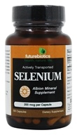 Futurebiotics - Selenium 200 mcg. - 100 Vegetarian Capsules Formerly Albion Chelated by Futurebiotics