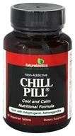 Futurebiotics - Chill Pill Non-Addictive Cool & Calm Nutritional Formula - 60 Vegetarian Tablets
