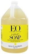 Image of EO Products - Liquid Hand Soap Lemon & Eucalyptus - 1 Gallon