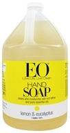 Sapone alle mani limone ed eucalipto - 1 Gallon by EO Products