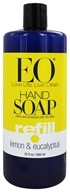 Image of EO Products - Liquid Hand Soap Lemon & Eucalyptus - 32 oz.