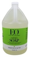EO Products - Liquid Hand Soap Peppermint & Tea Tree - 1 Gallon