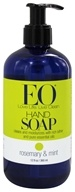 EO Products - Liquid Hand Soap Rosemary & Mint - 12 oz. (636874120195)