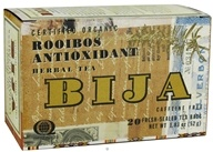 Flora - Bija Rooibos Anti-Oxidant Herbal Tea Certified Orgnanic Caffeine Free - 20 Tea Bags by Flora