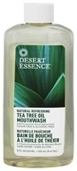 Image of Desert Essence - Natural Refreshing Tea Tree Oil Mouthwash - 8 oz.