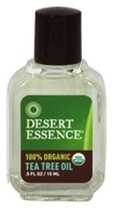 Desert Essence - Tea Tree Oil 100% Organic - 0.5 oz. (718334300313)