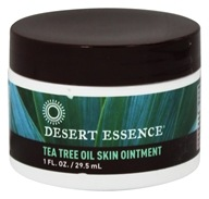 Desert Essence - Tea Tree Oil Skin Ointment - 1 oz. (000680000031)