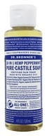 Image of Dr. Bronners - Magic Pure-Castile Soap Organic Peppermint - 4 oz.