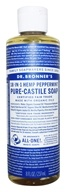Dr. Bronners - Magic Pure-Castile Soap Organic Peppermint - 8 oz.