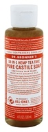 Dr. Bronners - Magic Pure-Castile Soap Organic Tea Tree - 4 oz.
