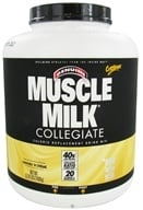 Cytosport - Muscle Milk Genuine Collegiate Calorie Replacement Drink Mix Cookies 'N Creme - 5.29 lbs.