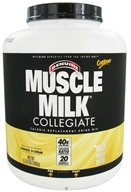 Cytosport - Muscle Milk Genuine Collegiate Calorie Replacement Drink Mix Cookies 'N Creme - 5.29 lbs. by Cytosport