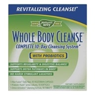 Enzymatic Therapy - Whole Body Cleanse Complete 10-Day Cleansing System, from category: Detoxification & Cleansing