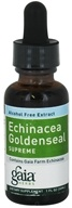Image of Gaia Herbs - Echinacea Goldenseal Alcohol Free - 1 oz.