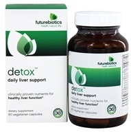 Futurebiotics - Detox Daily Liver Support - 60 Vegetarian Capsules, from category: Nutritional Supplements