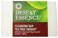 Desert Essence - Tea Tree Therapy Cleansing Bar Soap - 3.5 oz. LUCKY DEAL