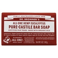 Dr. Bronners - Magic Pure-Castile Bar Soap Organic Eucalyptus - 5 oz. - $4.09