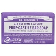 Dr. Bronners - Magic Pure-Castile Bar Soap Organic Lavender - 5 oz.