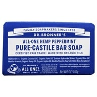 Dr. Bronners - Magic Pure-Castile Bar Soap Organic Peppermint - 5 oz. by Dr. Bronners
