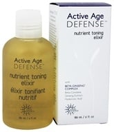 Earth Science - Active Age Defense Nutrient Toning Elixir - 6 oz. Formerly Beta-Ginseng Nutrient Toning Elixir