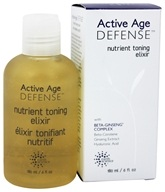 Earth Science - Active Age Defense Nutrient Toning Elixir - 6 oz. Formerly Beta-Ginseng Nutrient Toning Elixir by Earth Science