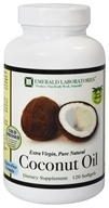 Emerald Labs - Coconut Oil Extra Virgin - 120 Softgels (743650000906)