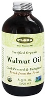 Flora - Walnut Oil Certified Organic - 8.5 oz., from category: Health Foods