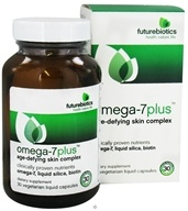 Futurebiotics - Omega-7 Plus Age-Defying Skin Complex - 30 Vegetarian Capsules by Futurebiotics
