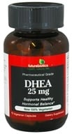 Futurebiotics - DHEA 25 mg. - 75 Vegetarian Capsules by Futurebiotics
