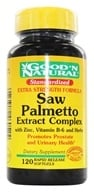 Good 'N Natural - Extra Strength Saw Palmetto Extract Complex - 120 Softgels (074312460524)