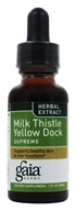Gaia Herbs - Milk Thistle Yellow Dock Supreme - 1 oz. by Gaia Herbs
