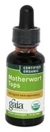 Image of Gaia Herbs - Motherwort Tops Certified Organic - 1 oz. Formerly Motherwort Flowering Herb