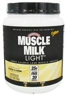 Cytosport - Muscle Milk Genuine Light Lower Calorie Lean Muscle Protein Cookies 'n Creme - 26.4 oz.