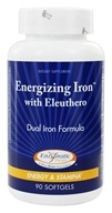 Image of Enzymatic Therapy - Energizing Iron with Eleuthero - 90 Softgels