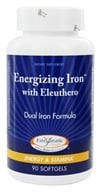 Enzymatic Therapy - Energizing Iron with Eleuthero - 90 Softgels (763948052097)