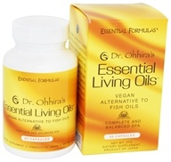 Essential Formulas - Dr. Ohhira's Essential Living Oils Professional Formula - 60 Capsules, from category: Professional Supplements