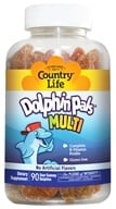 Country Life - Dolphin Pals Multivitamin & Mineral - 90 Sour Gummies