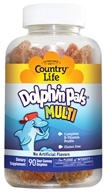 Country Life - Dolphin Pals Multivitamin & Mineral - 90 Sour Gummies by Country Life