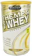 Biochem by Country Life - 100% Hemp & Whey Powder - 13.3 oz.