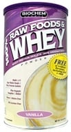 Biochem by Country Life - 100% Raw Foods & Whey Powder Vanilla - 13 oz., from category: Sports Nutrition