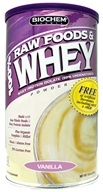 Biochem by Country Life - 100% Raw Foods & Whey Powder Vanilla - 13 oz. (015794020301)