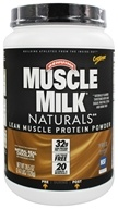 Cytosport - Muscle Milk Genuine Nature's Ultimate Lean Muscle Protein Natural Real Chocolate - 2.47 lbs. by Cytosport