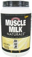 Cytosport - Muscle Milk Naturals Nature's Ultimate Lean Muscle Protein Natural Vanilla - 2.47 lbs.