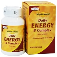 Enzymatic Therapy - Fatigued To Fantastic Daily Energy B Complex - 30 Vegetarian Capsules - $5.32