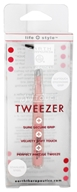 Earth Therapeutics - Softtouch Tweezer Pink