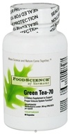 FoodScience of Vermont - Green Tea-70 - 60 Vegetarian Capsules (026664372666)