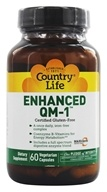 Country Life - Maxi-Sorb Enhanced QM-1 Iron-Free - 60 Vegetarian Capsules - $17.99