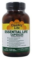 Country Life - Essential Life Capsules Daily Multi-Nutrient Complex - 120 Capsules, from category: Vitamins & Minerals